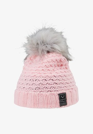 BOBBLE BEANIE - Čepice - pale pink