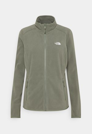 GLACIER FULL ZIP - Fleece jacket - agave green