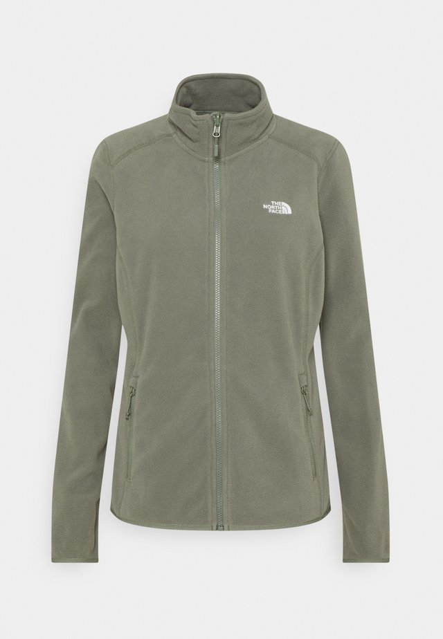 GLACIER FULL ZIP - Fleecetakki - agave green
