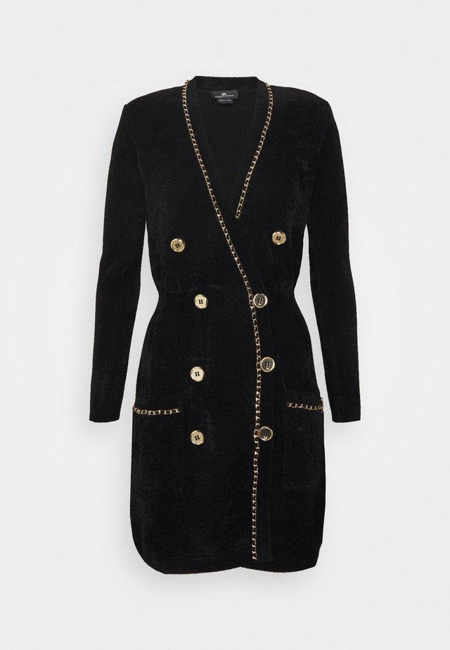 WOMAN'S DRESS - Stickad klänning - black