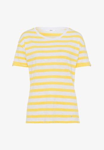 STYLE CAMILLE - Print T-shirt - sun yellow