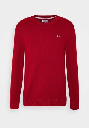 ESSENTIAL CREW NECK UNISEX - Jumper - wine red