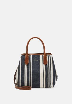 STRIPE OPEN TOTE - Handbag - blue multi