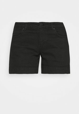 MID RISE CLASSIC - Jeans Shorts - new black