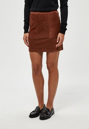 BRITT  - Mini skirt - glazed gin