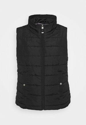 VMSIMONE WAISTCOAT - Waistcoat - black