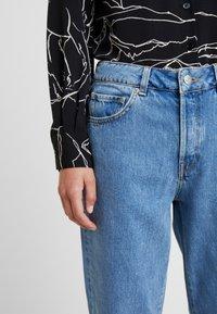 Selected Femme - SLFLOU DAWN - Slim fit jeans - dark blue denim - 6