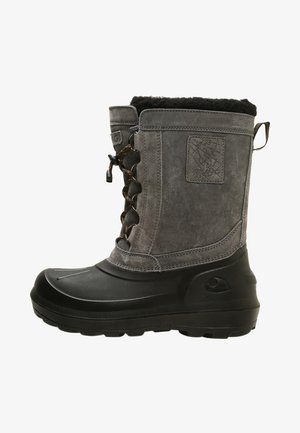 SVARTISEN - Snowboots  - charcoal/black