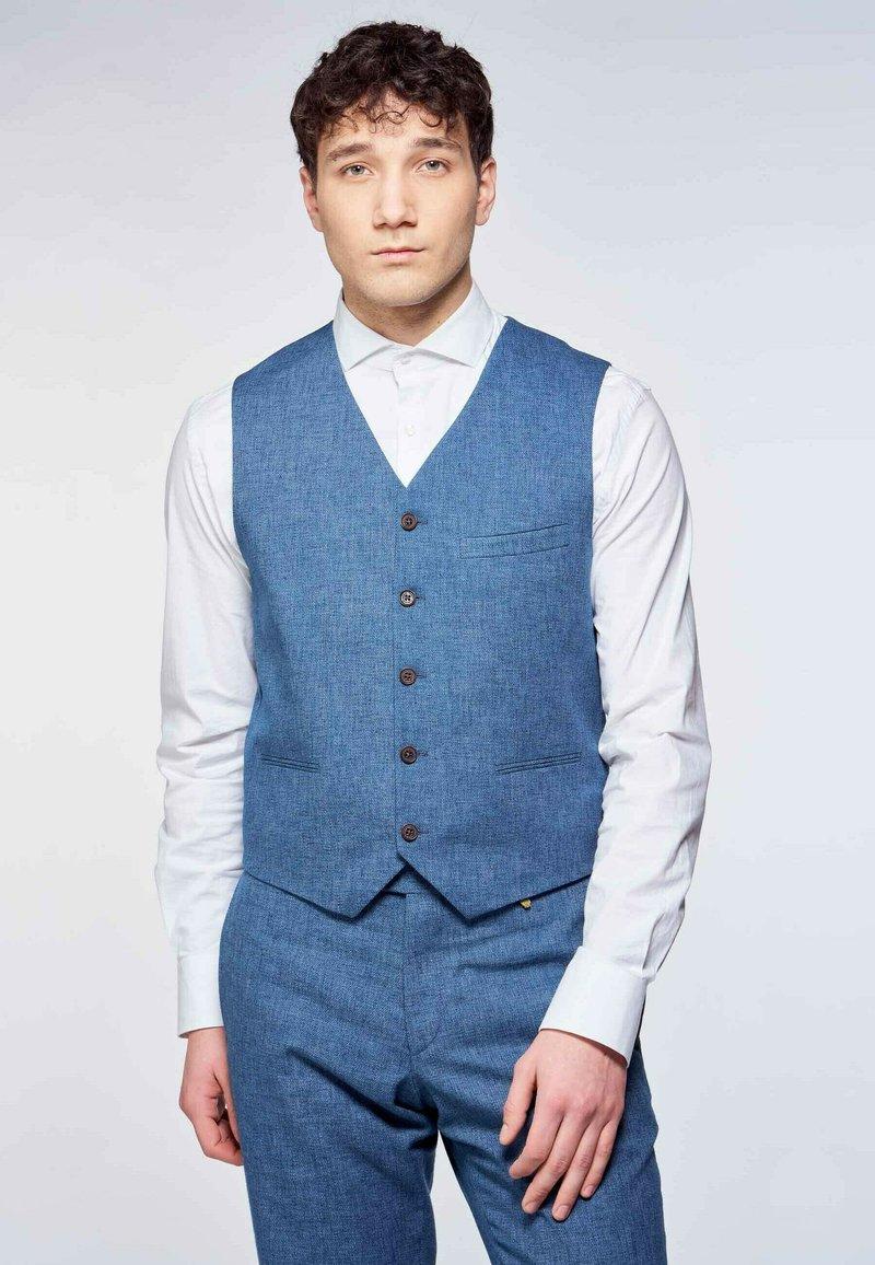 MDB IMPECCABLE - Waistcoat - blue