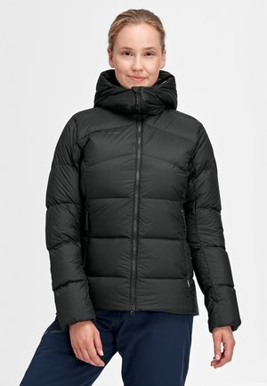 MERON HOODED - Down jacket - black