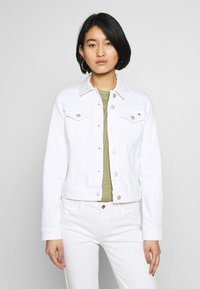 Tommy Hilfiger - SHRUNK  - Denim jacket - white - 0