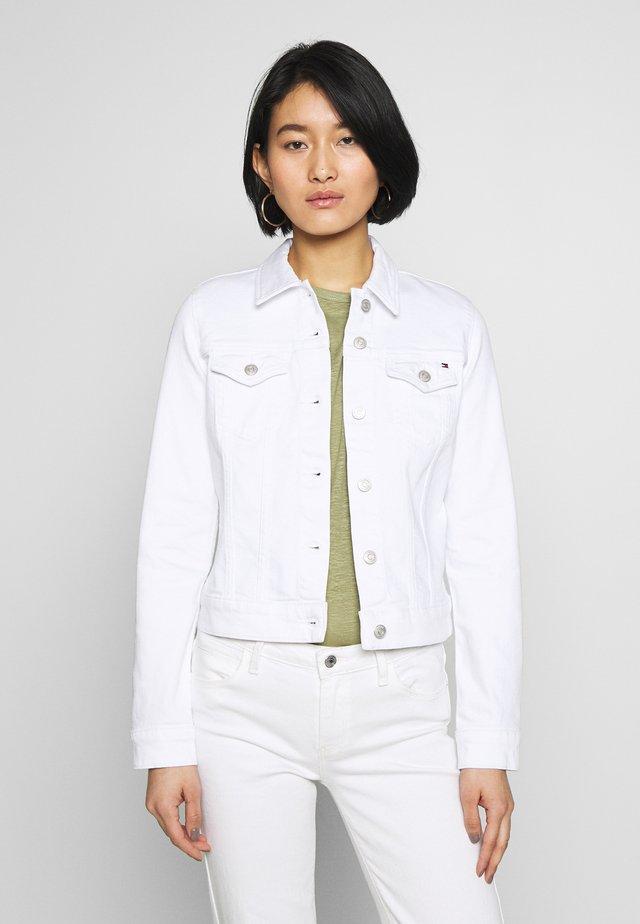 SHRUNK  - Kurtka jeansowa - white