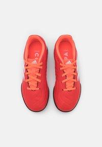 adidas Performance - COPA SENSE.3 TF UNISEX - Kopačky na umělý trávník - red/footwear white/solar red - 3