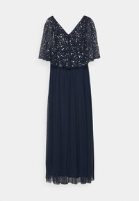 Maya Deluxe - CAPE BACK EMBELLISHED MAXI DRESS - Abito da sera - navy - 1