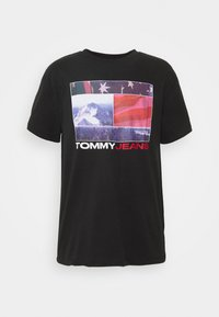 Tommy Jeans - PHOTO GRAPHIC TEE - Print T-shirt - black - 3