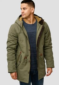 INDICODE JEANS - Winter coat - dark green - 0