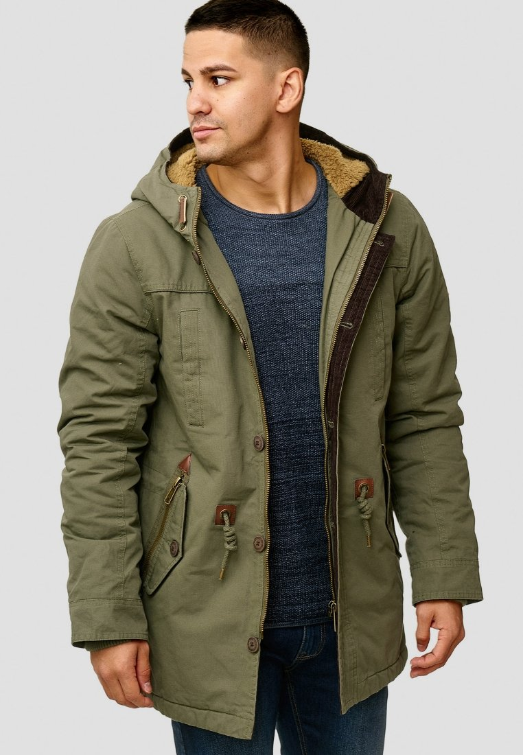 INDICODE JEANS - Winter coat - dark green
