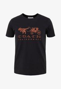 Coach - REXY AND CARRIAGE  - Print T-shirt - black - 3