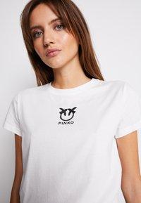 Pinko - BUSSOLANO - Print T-shirt - white - 4