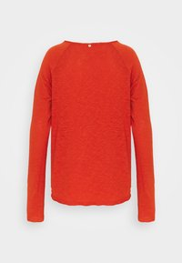 Rich & Royal - HEAVY LONGSLEEVE - Long sleeved top - rusty red - 1