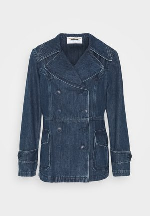 JACKET - Denim jacket - blue