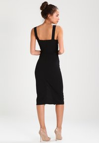 WAL G. - V NECK MIDI  - Shift dress - black - 2