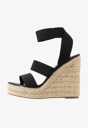 SHIMMY - High heeled sandals - black