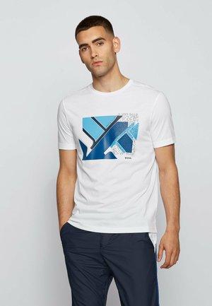 TEEONIC - Print T-shirt - white
