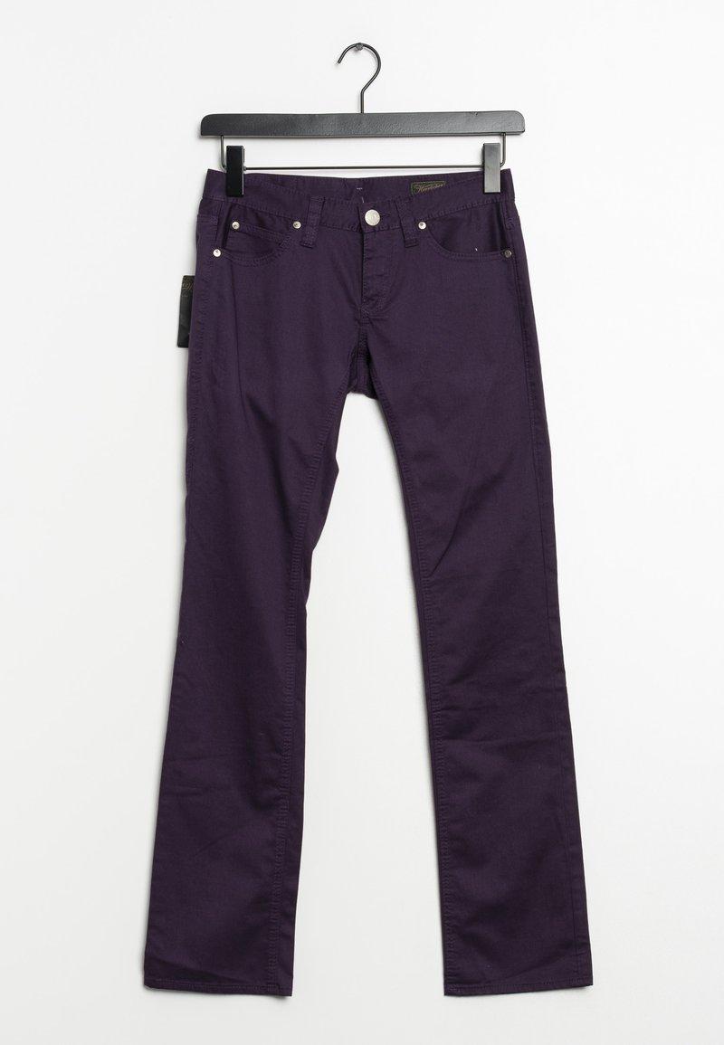 Herrlicher - Straight leg jeans - purple