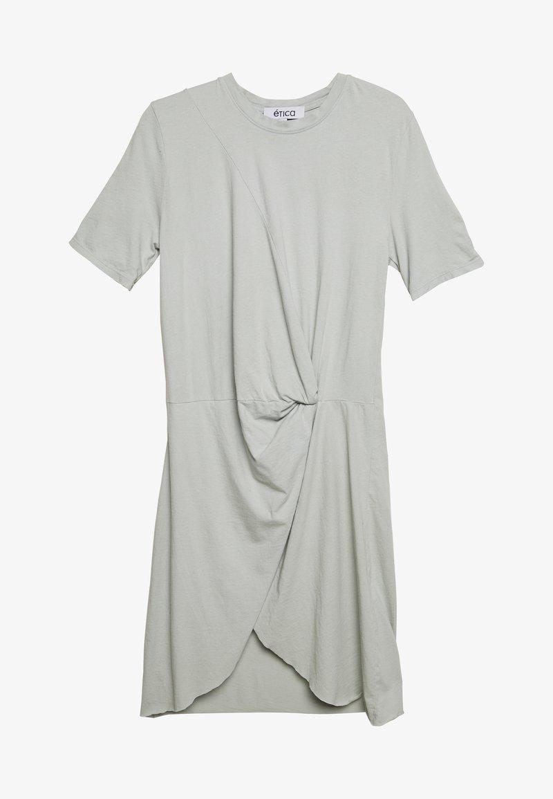 Ética - VERONICA - Jersey dress - agave