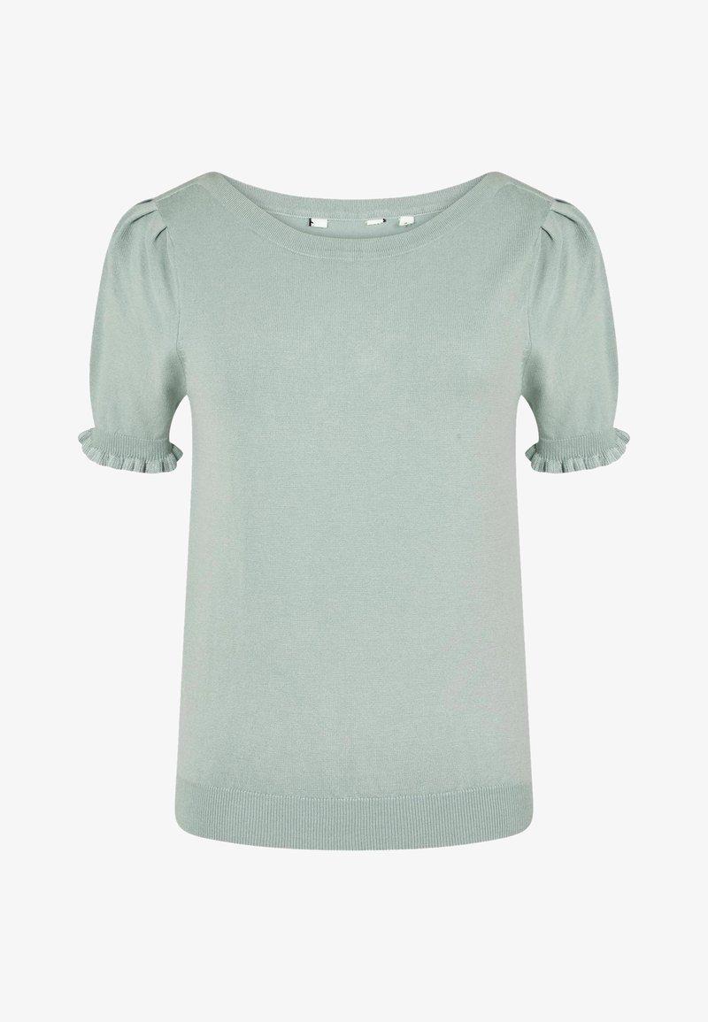 NAF NAF - Print T-shirt - green