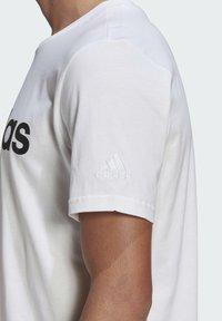 adidas Performance - Triko spotiskem - white black - 5