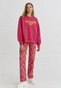 PULL&BEAR - Sweatshirt - mottled pink - 1