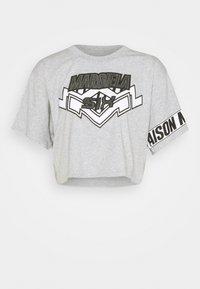 MM6 Maison Margiela - Camiseta estampada - grey - 5