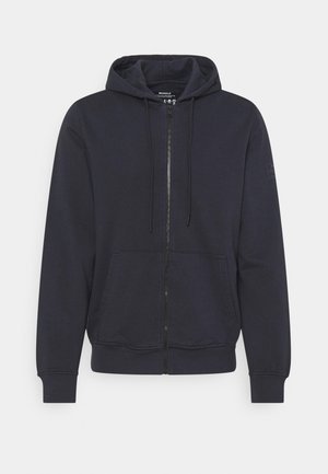 STEVE MAN - veste en sweat zippée - midnight navy