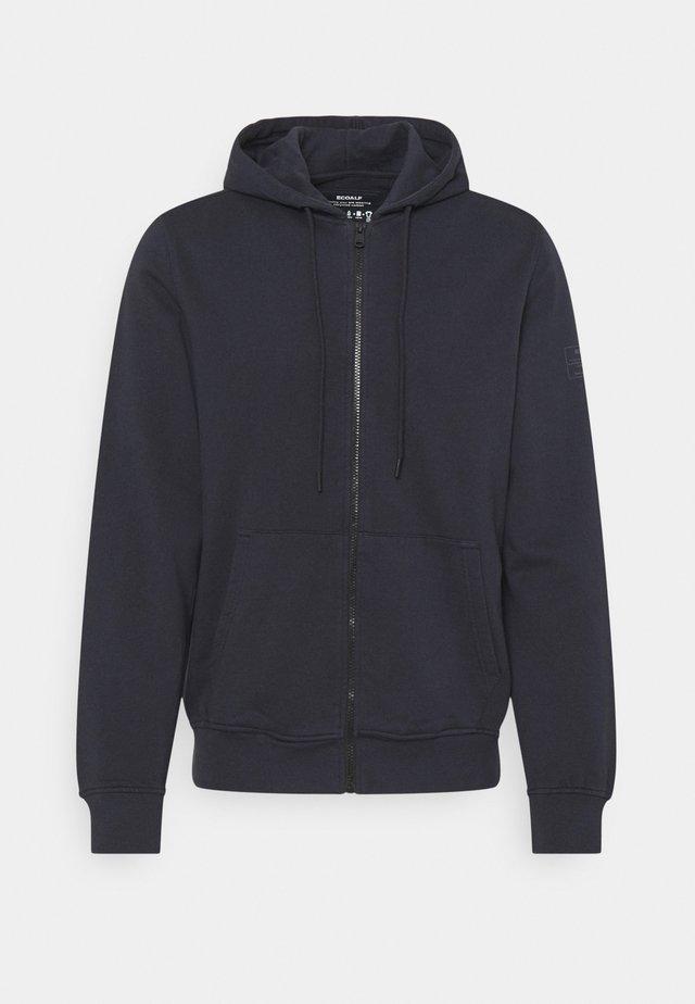 STEVE MAN - veste en sweat zippée - midnight navy