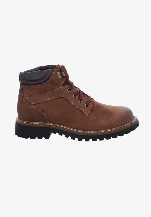 CHANCE  - Lace-up ankle boots - castagne/braun