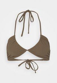 ARKET - Bikini top - brown - 0