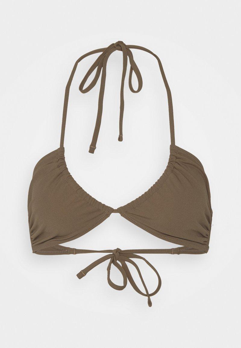 ARKET - Bikini top - brown