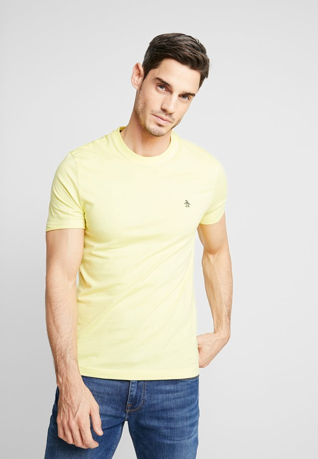 EMBROIDRED LOGO TEE - T-shirts basic - limelight
