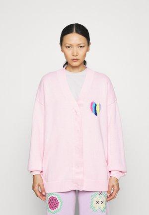 FLORA - Strickjacke - pink