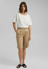 Esprit Collection - Basic T-shirt - off white - 1