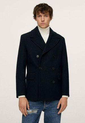 MANTEL  - Short coat - dunkles marineblau