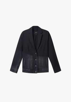 KEREM - Denim jacket - black