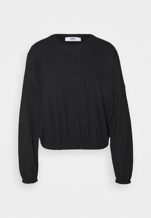 ONLZILLE ONECK - Langærmede T-shirts - black