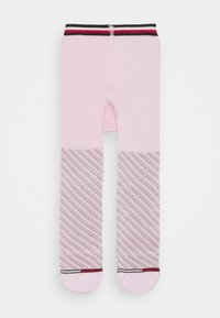 Tommy Hilfiger - BABY TIGHTS SMALL DOTTED STRIPE - Panty - pink combo - 0