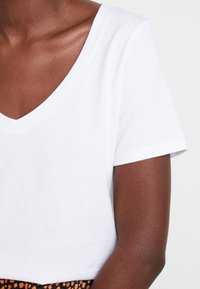 Anna Field - Basic T-shirt - white - 4