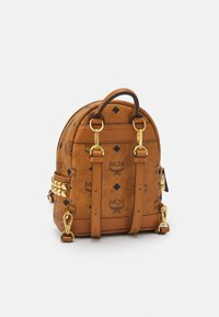 MCM - STARK BACKPACK MINI - Sports bag - cognac - 1