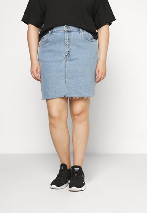 MALLORY SKIRT - Denim skirt - light retro
