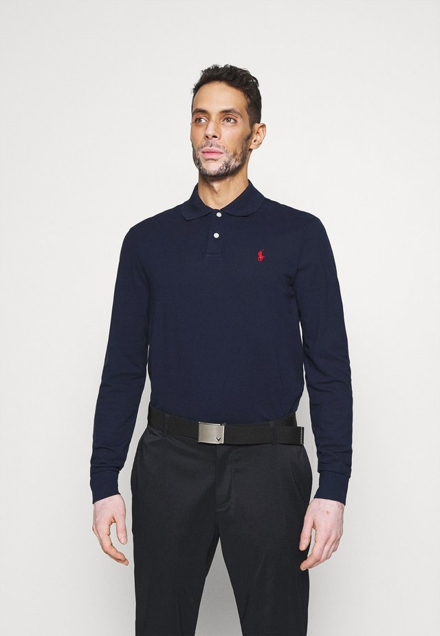 LONG SLEEVE - Poloshirt - french navy